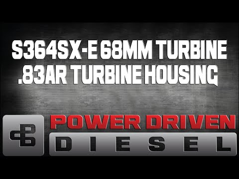 Dyno Test: BorgWarner Turbos S364SX-E .83 Housing & 68mm Turbine | Power Driven Diesel