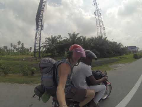 Malaysia / Hitchhiking on a scooter / 2018 / GoPro