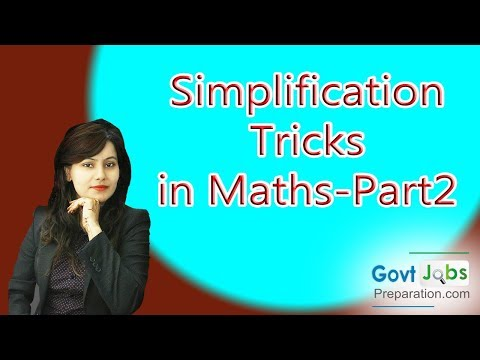 Maths Trick on Simplification Square Roots Questions Answers