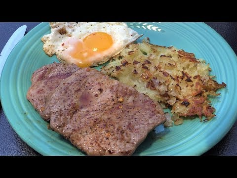 Minute Steak Recipe | Lone Star Grillz Flat Top Breakfast