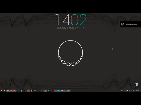 Desktop Set Up (Rainmeter & Wallpaper Engine)