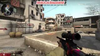 Awp Hyper Beast Battle Scarred Gameplay By Xesfa