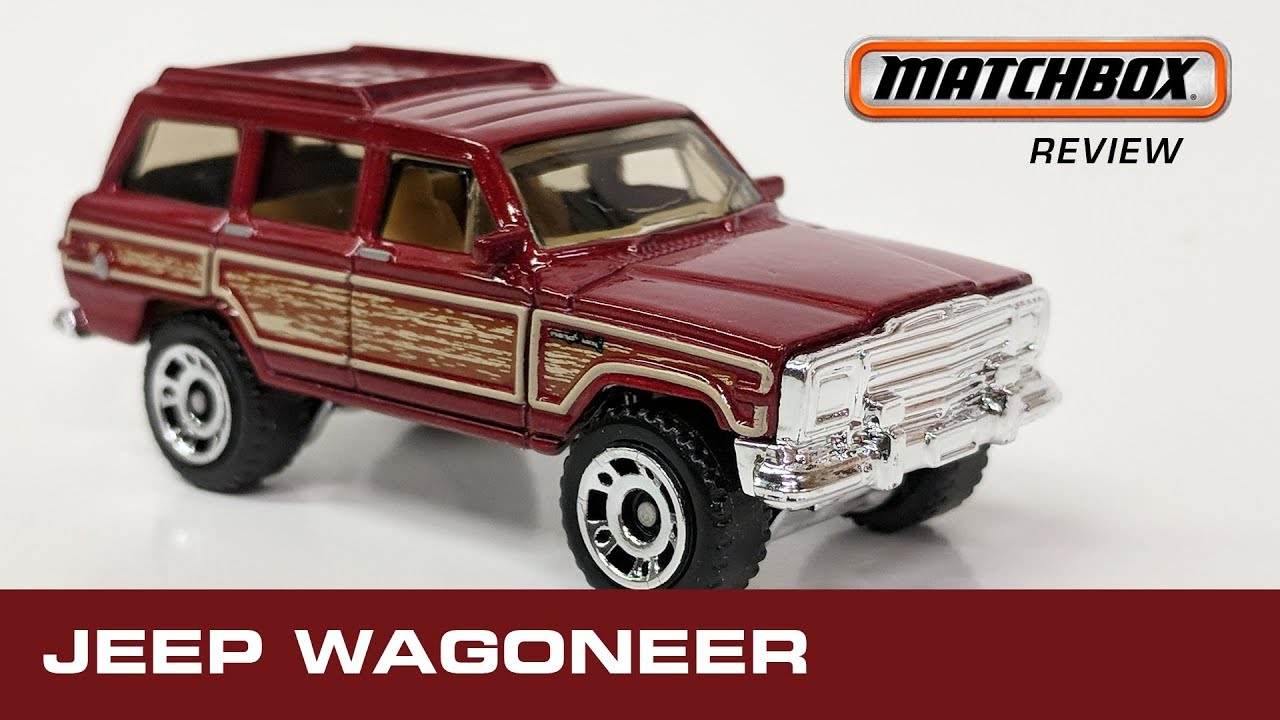 Grand Wagoneer 2018 >> Jeep Wagoneer 2018 Matchbox Unboxing And Review Classic Off Road 4x4 Diecast