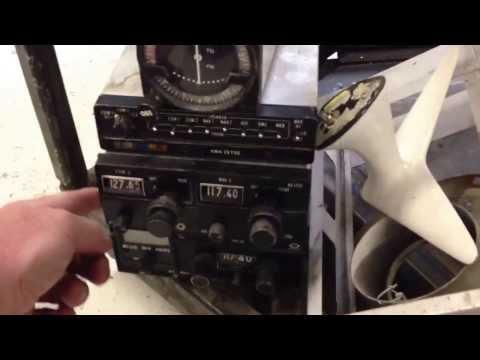 Piper Warrior radio stack upgrade