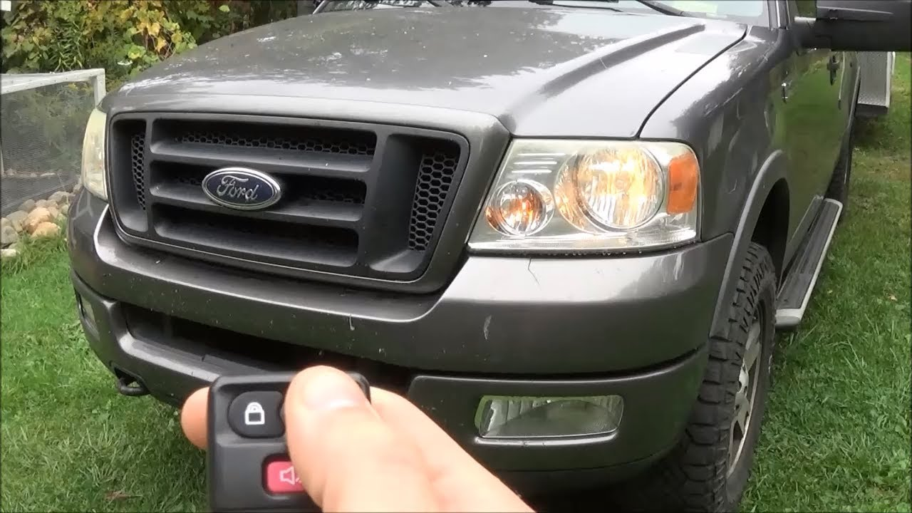 How To Stop Headlights From Turning On When You Unlock Ford F 150 Fx4