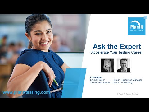 Ask the Expert #2 - Accelerate Your Testing Career with Emma Pilcher and James Pennefather