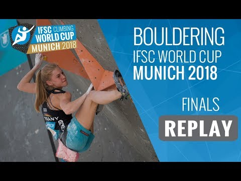 IFSC Climbing World Cup Munich 2018 - Bouldering - Finals - Men/Women