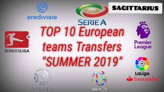 TOP 10 european transfers SUMMER 2019 ! TOP or FLOP !?