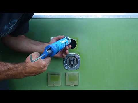 How to Replace Hatch Covers on an Apache Camper