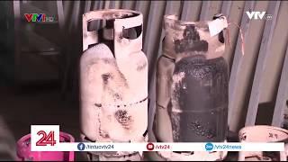 Nhiều vi phạm tại doanh nghiệp chiết nạp gas Phúc Khang tại Hòa Bình - Tin Tức VTV24