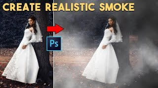 How to Create Realistic Smoke/Fog Effect in Photoshop