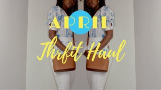 Huge Spring/Summer Thrift Haul | Chatty Haul 2018