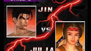 Tekken 3 ( PS1 ) - Jin - Arcade Mode - Original Music ( Dec 18, 2017 ) thumbnail