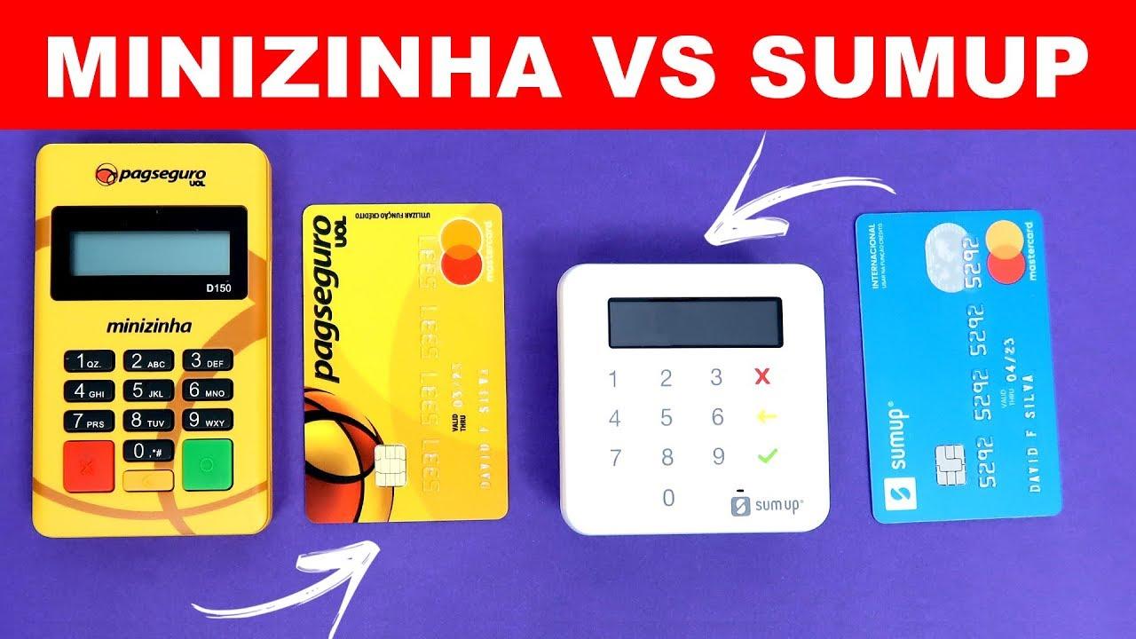 17c7c44c5 Minizinha Vs Sumup - Qual a Melhor Maquininha de Cartão ? - YouTube