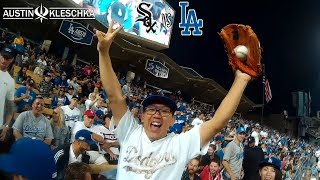 TAKA BRINGS MAGIC TO DODGER STADIUM! | Kleschka Vlogs