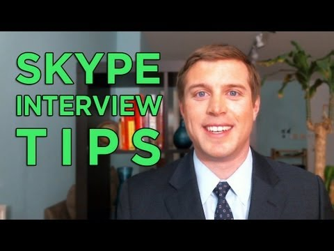 How to Look Good in Skype Interviews - Tips  Training - YouTube