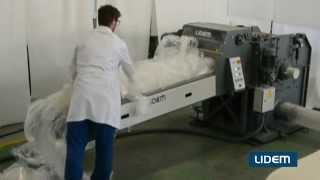Cutter, shredder, granulator for film and agricultural plastics