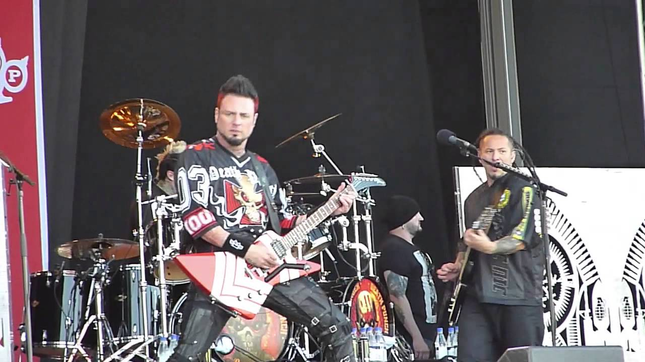 Five finger death punch hard to see live sweden rock 2015 youtube
