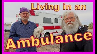 Converting an Ambulance Into a Tiny Home on Wheels