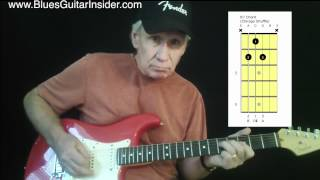 Blues Guitar Insider - How To Play A Chicago Shuffle