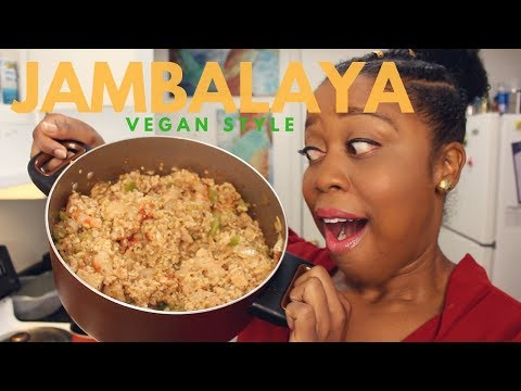 Episode 42: New Orleans Style Vegan Jambalaya!