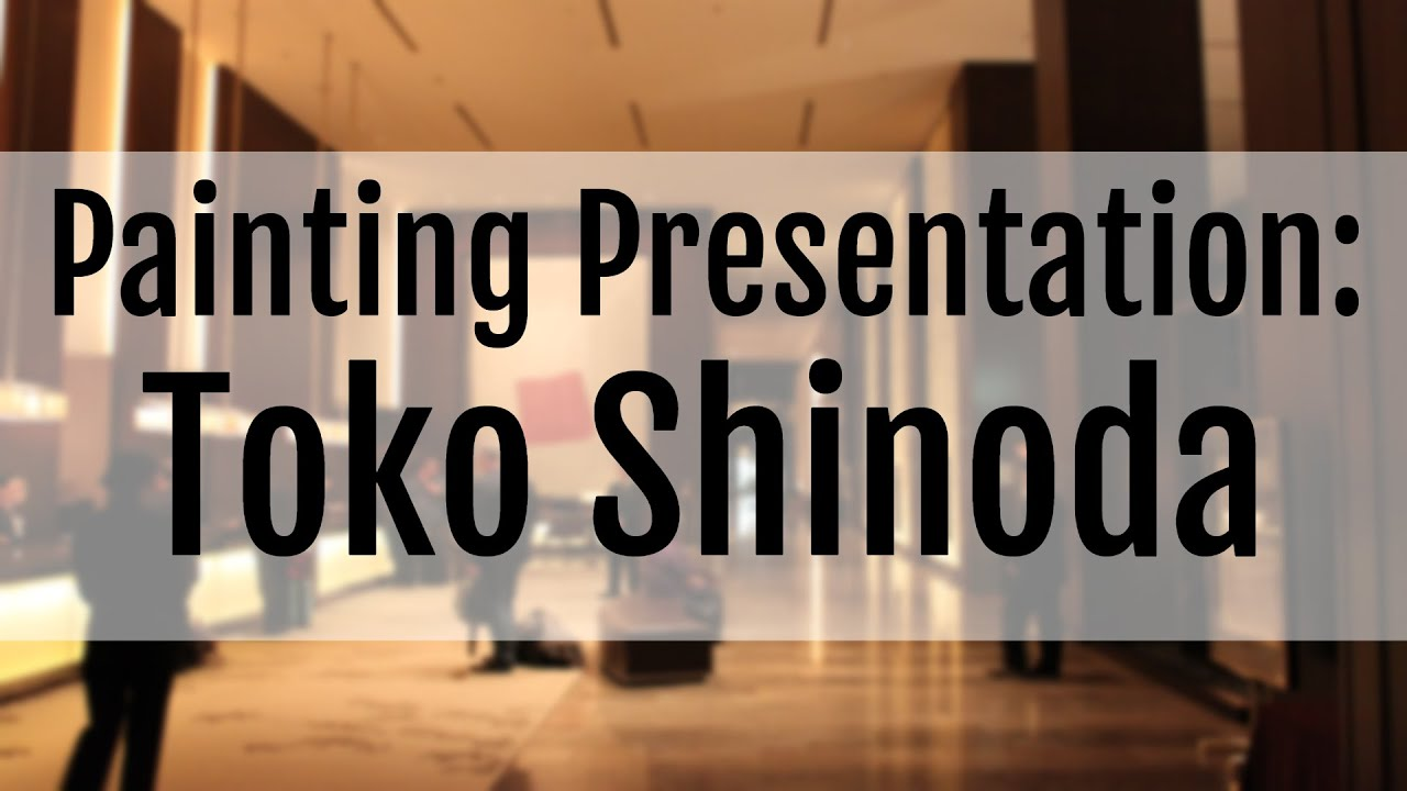 YouTube Video: The Paintings of SHINODA Toko