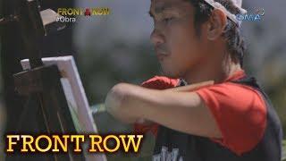 Front Row: Pintor na walang braso at paa, paano kaya nagagawa ang kanyang mga obra?
