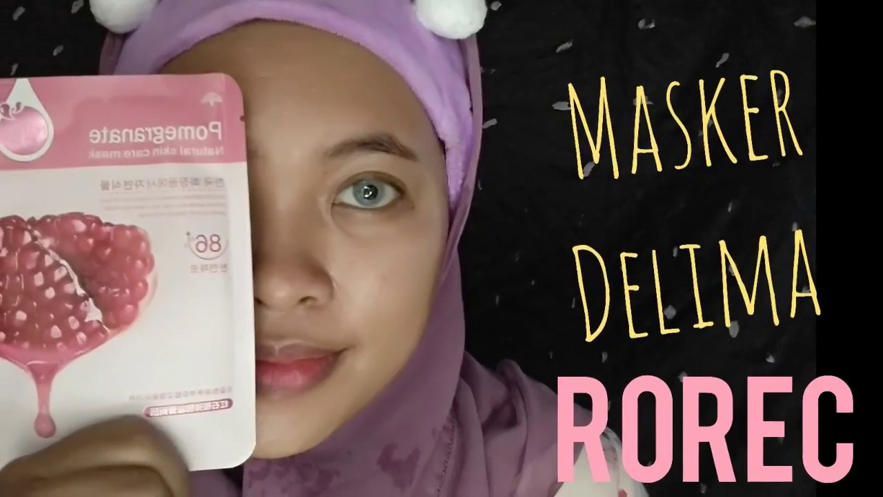 Nature Skin Care Mask Pomegrante Rorec Variants Review Demo By Vapinka Makeup