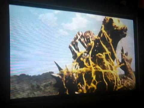Godzilla final wars battle 3 Godzilla vs Kumonga