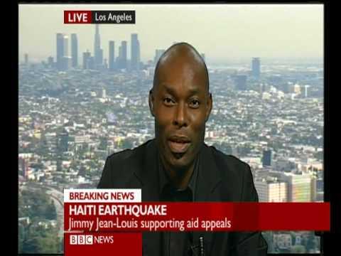 Haiti Earthquake: Heroes star ''The Haitian'' Jimmy JeanLouis talks to BBC Tasmin Lucia Khan