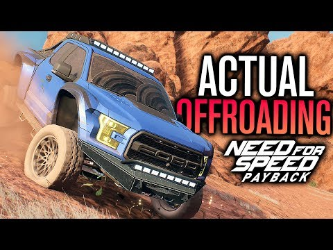 ACTUALLY OFFROADING?! | Need for Speed Payback Raptor Customization