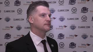 Goals & Reaction: Glasgow Clan 0-2 Manchester Storm (280220)