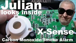 Julian looks inside: X-Sense Carbon Monoxide/Smoke Alarm