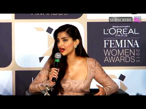 Sonam Kapoor | Launched the fourth edition of L'Oreal Paris Femina Women Awards | Part 4