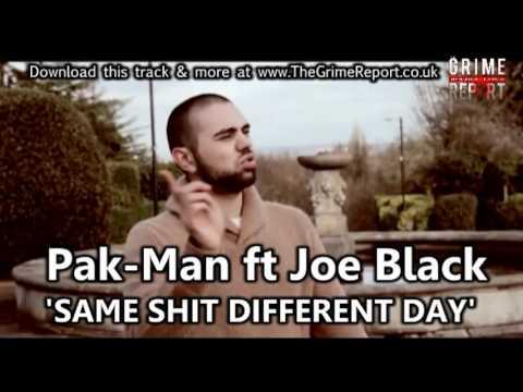 PAK-MAN ft JOE BLACK - SAME SHIT DIFFERENT...