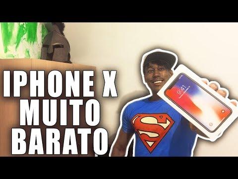COMPREI O IPHONE X MENOS DA METADE DO PREÇO NO BRASIL