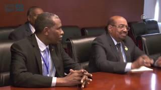 مصر العربية | رئيس السودان يلتقي نظيريه المصري والأوغندي بأديس أبابا