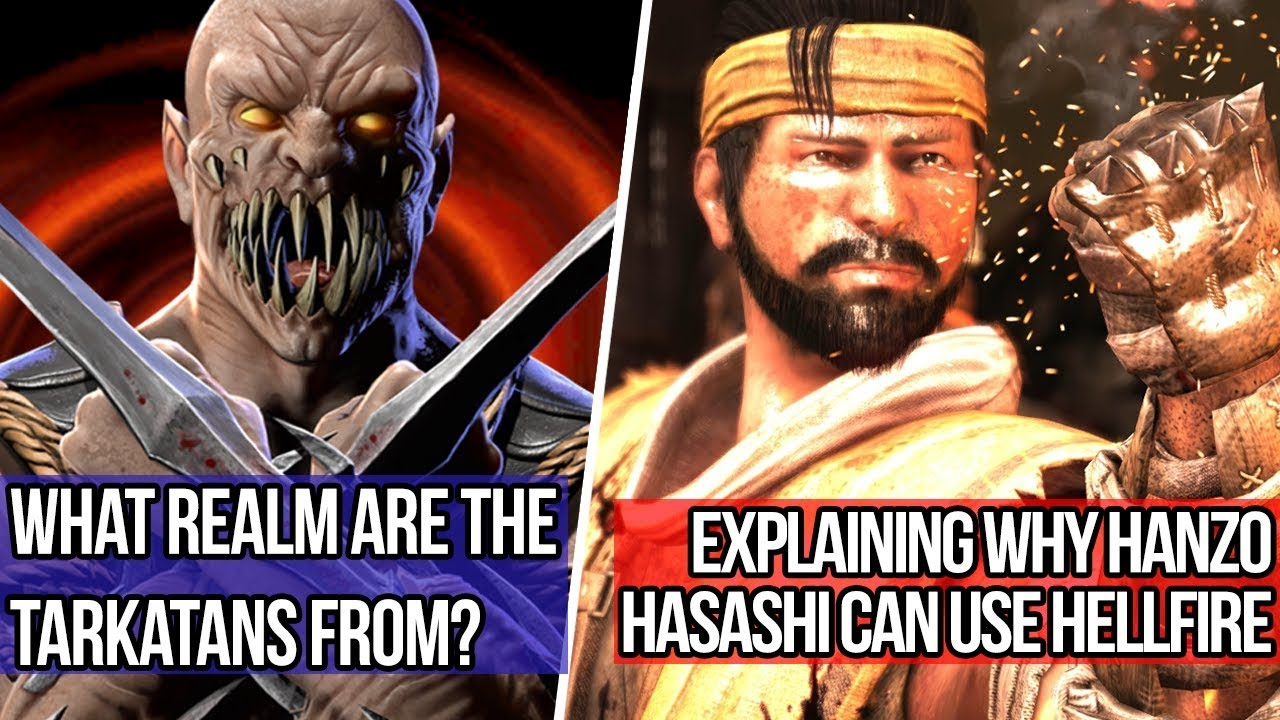What Realm Are The Tarkatans From? Why Hanzo Hasashi Can Use Hellfire  (Mortal Kombat Lore Q&A #2)