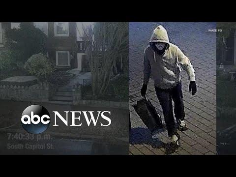 FBI release video of Capitol riot bomb suspect   WNT