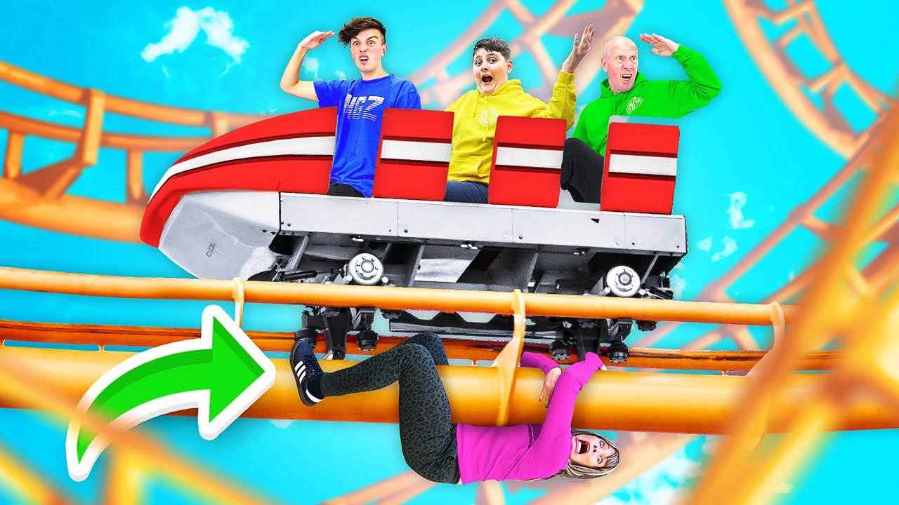 EXTREME Hide & Seek in THEME PARK - Win $10,000 Challenge