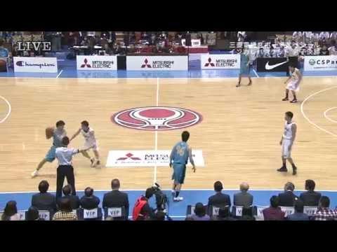 全日本大学バスケ2014男子決勝 東海大学 vs 筑波大学
