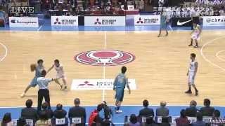 全日本大学バスケ2014男子決勝 東海大学 vs 筑波大学 thumbnail