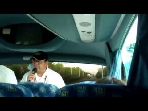 Our Bus Tour Guide Talks about Chichen Itza - Cancun, Mexico
