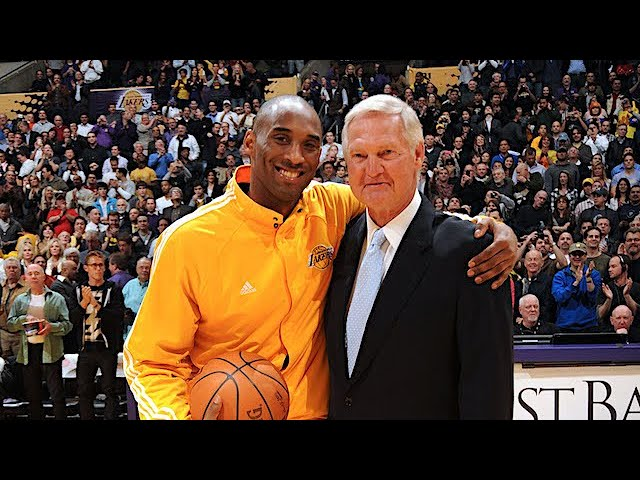 Jerry West's Emotional Reaction to Kobe Bryant's Death | 1/27/20