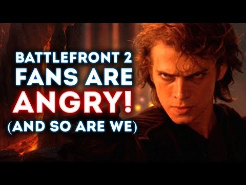 FANS ARE ANGRY! (And So Are We) - Star Wars Battlefront 2 Droidekagate (No Droideka) thumbnail