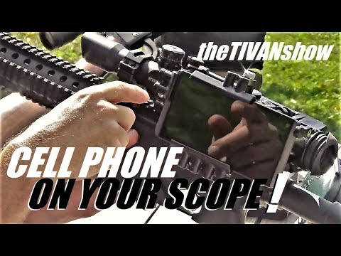 SIDE-SHOT SCOPE CAM / PUT YOUR CELL PHONE ON YOUR SCOPE AND RECORD