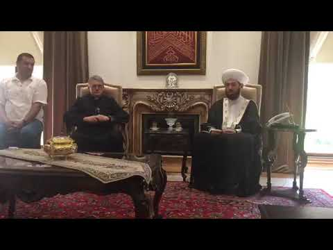 Catching up with Mufti Hassoun in Damascus