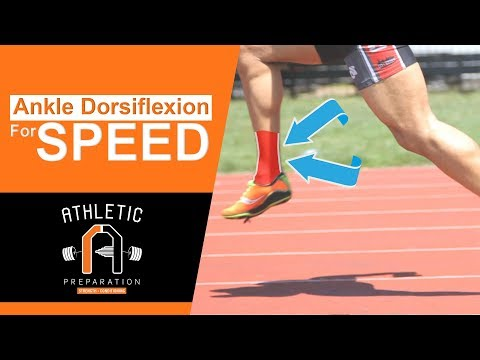 Improve Your Sprint Mechanics & Speed With Ankle Dorsiflexion