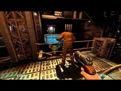 DOOM 3 Co-Op: Episode 1 - Arrival On Mars
