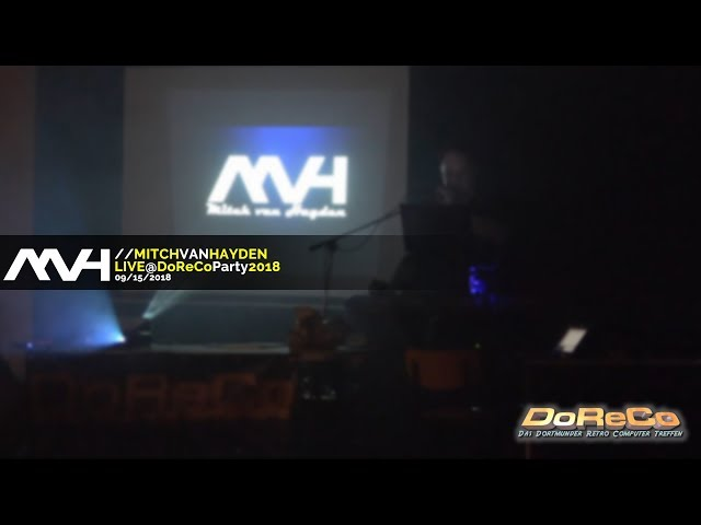  Mitch van Hayden | LIVE @ DoReCo Party 09/15/2018 